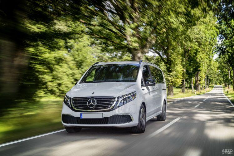 Mercedes-Benz EQV: первый серийный электровэн