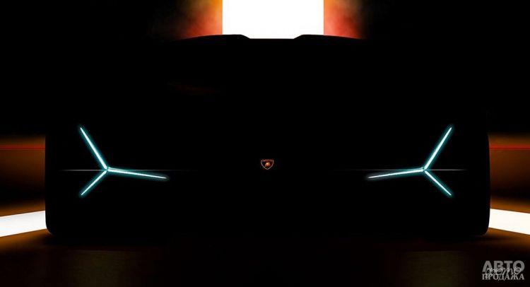 Lamborghini готовит новую флагманскую модель