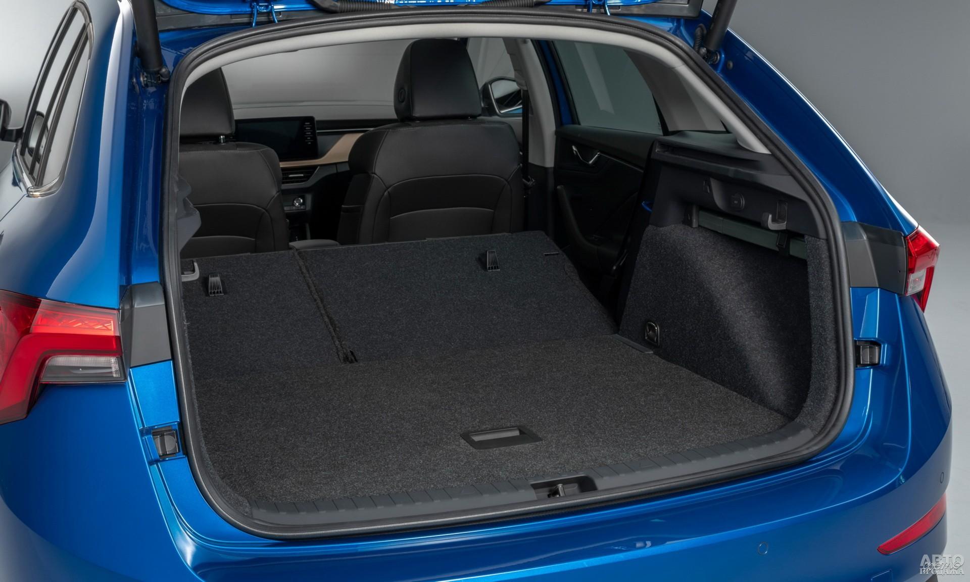 Багажник Skoda самый большой – 467 л