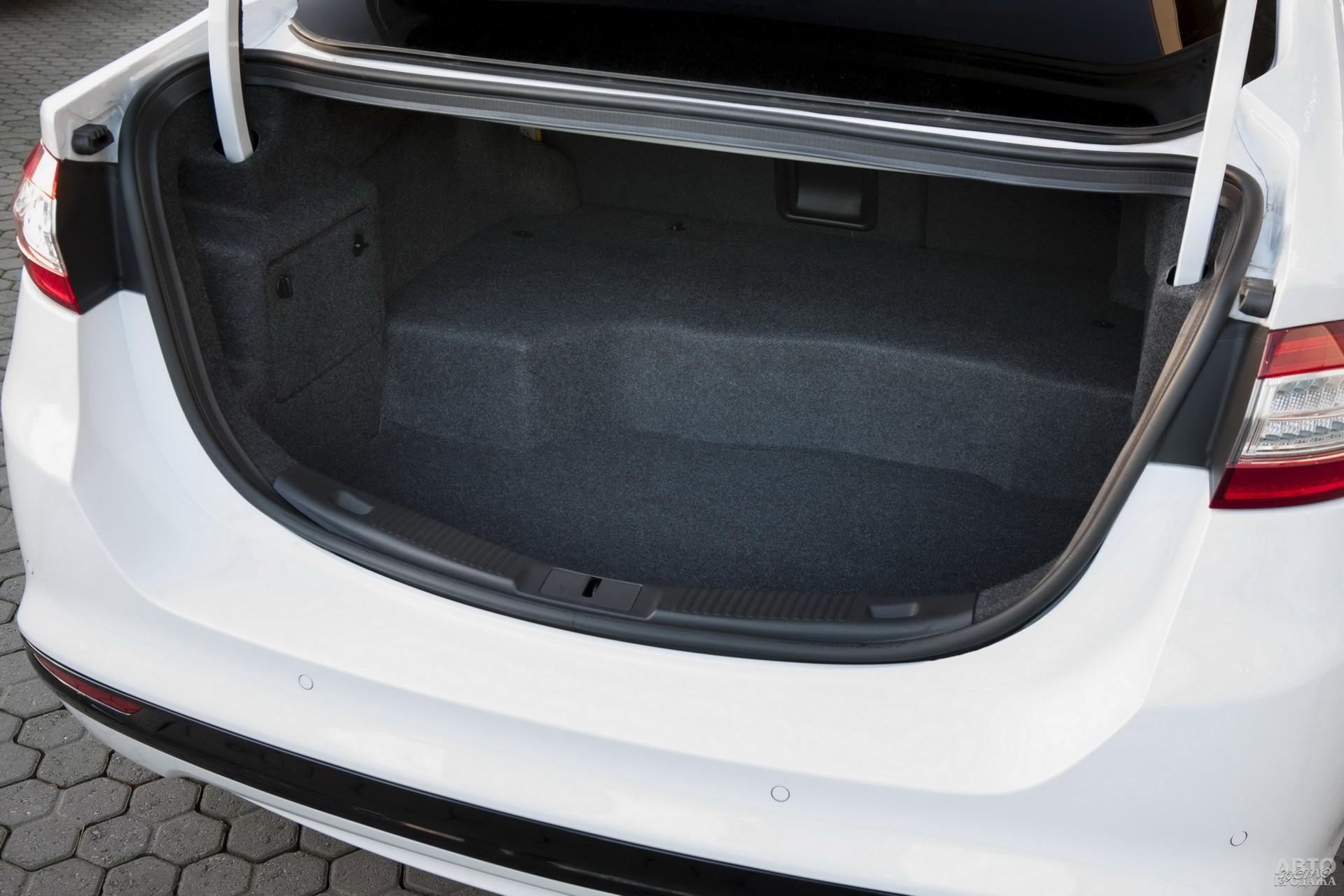 Багажник Ford самый вместительный – 516 л