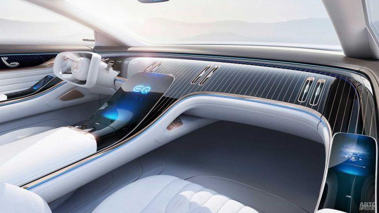 Mercedes-Benz готовит роскошный электромобиль