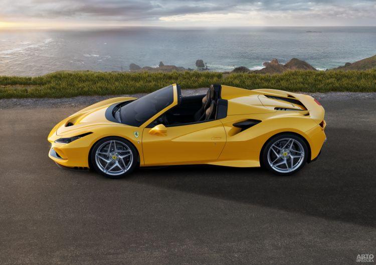 Ferrari F8 Spider: легче, мощнее, быстрее