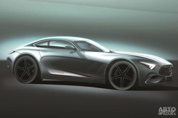 Новый Mercedes-AMG GT станет гибридом