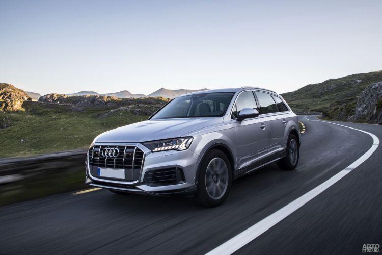 Audi Q7: обновленный гигант