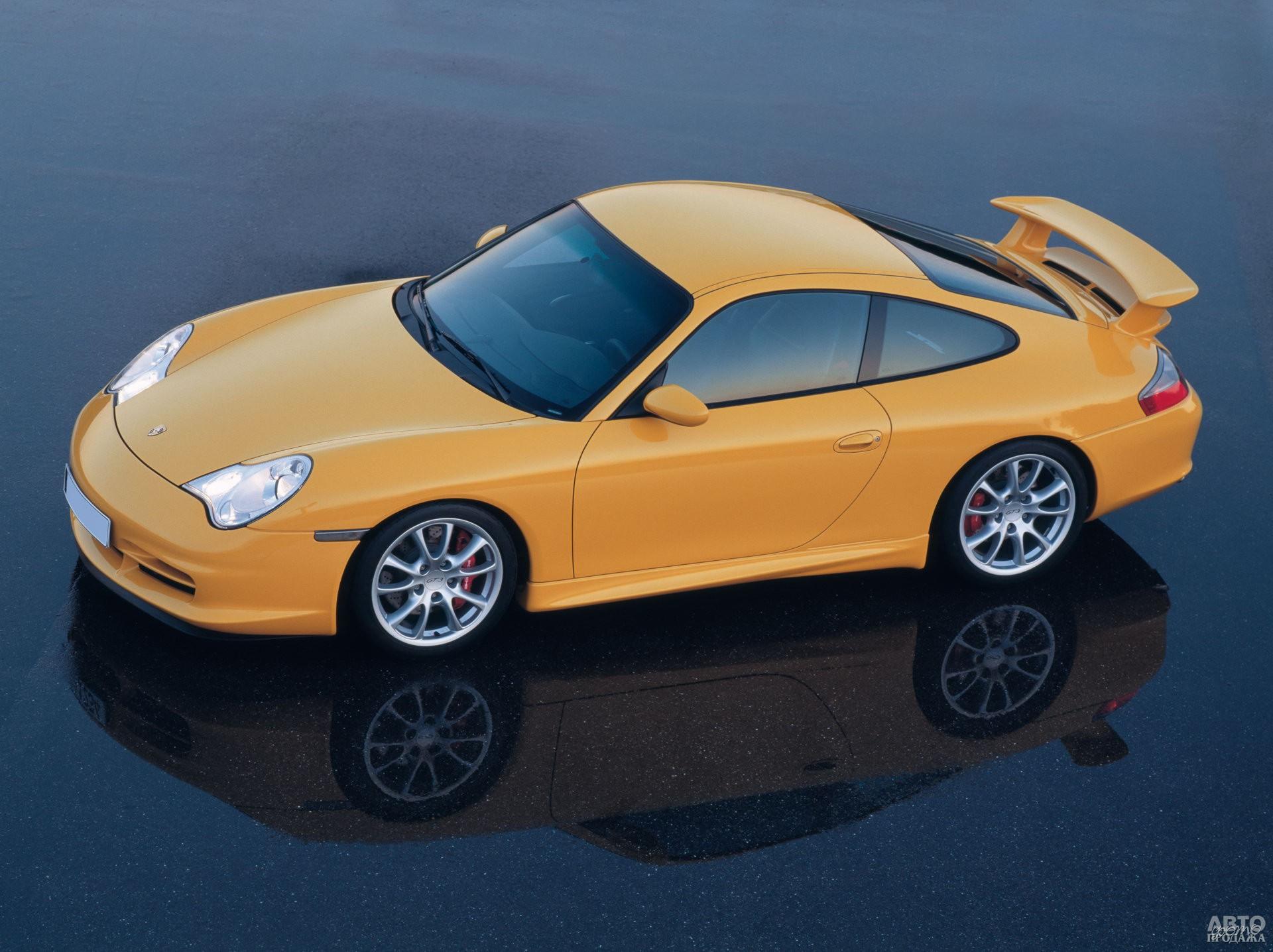 Porsche 911 GT3 2003 года
