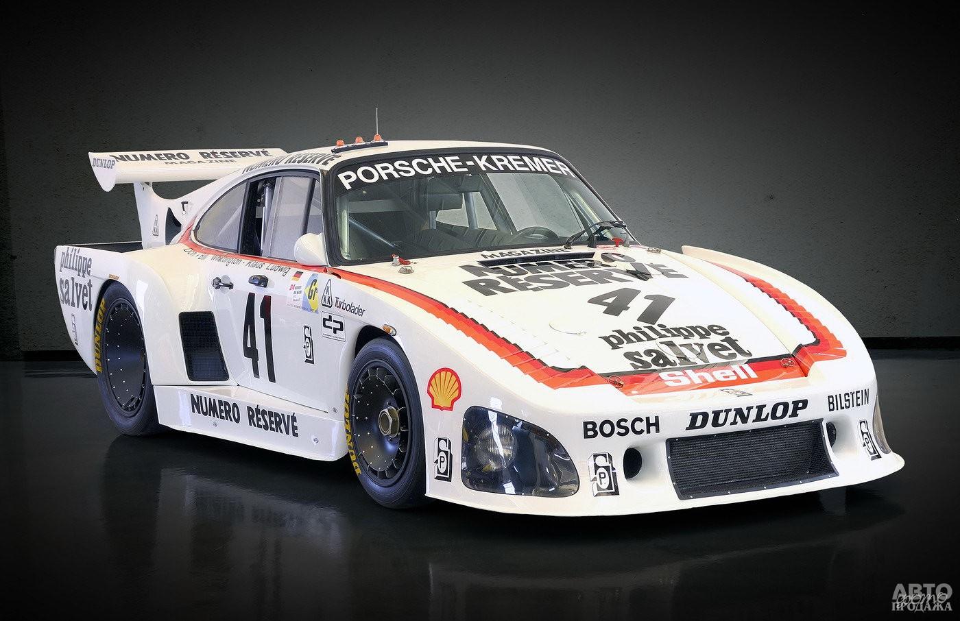 Мощный Porsche 935 в 1979 году выиграл 24-часовую гонку в Ле-Мане