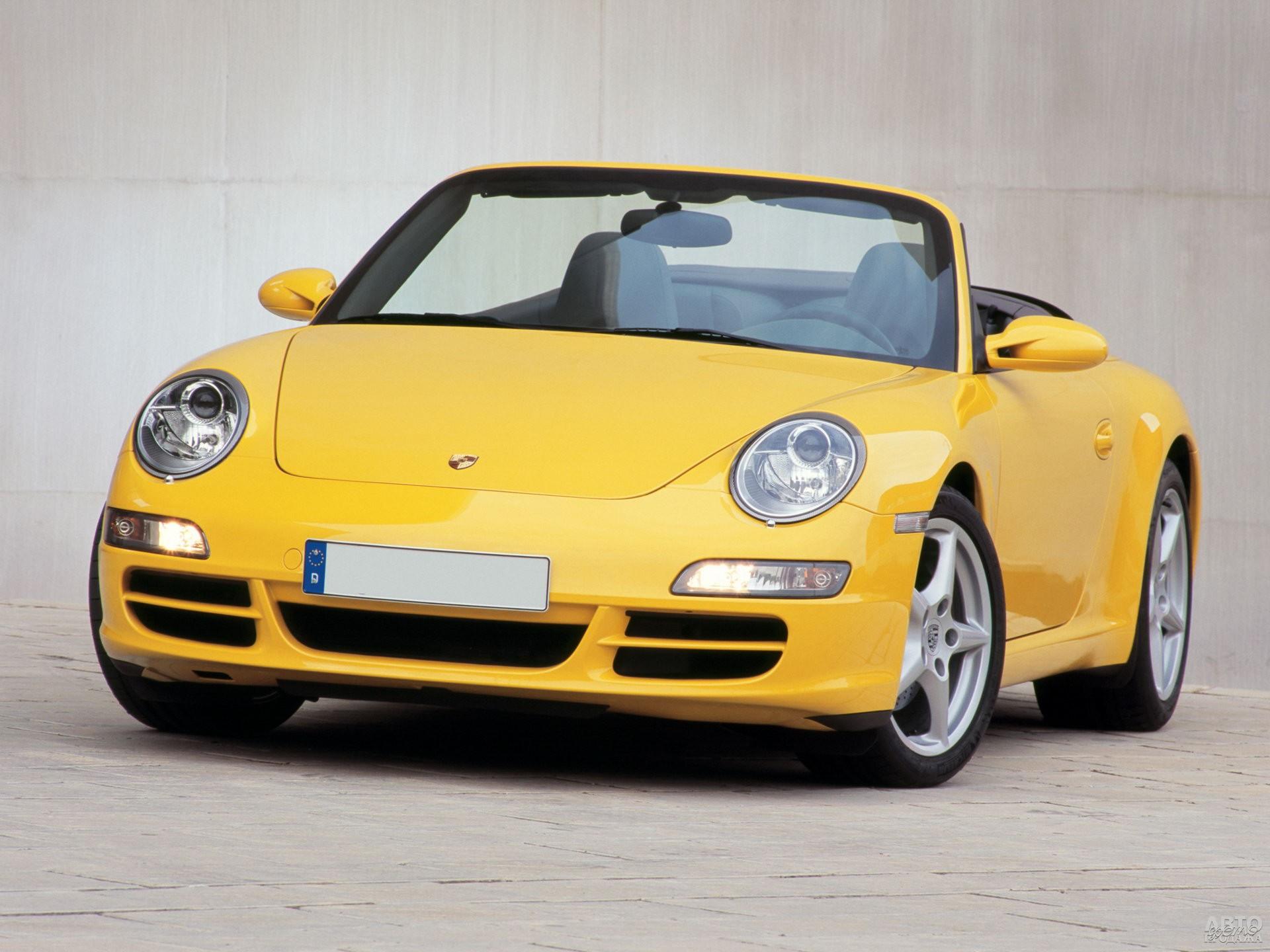 Porsche 911 «семейства» 997, 2005 год