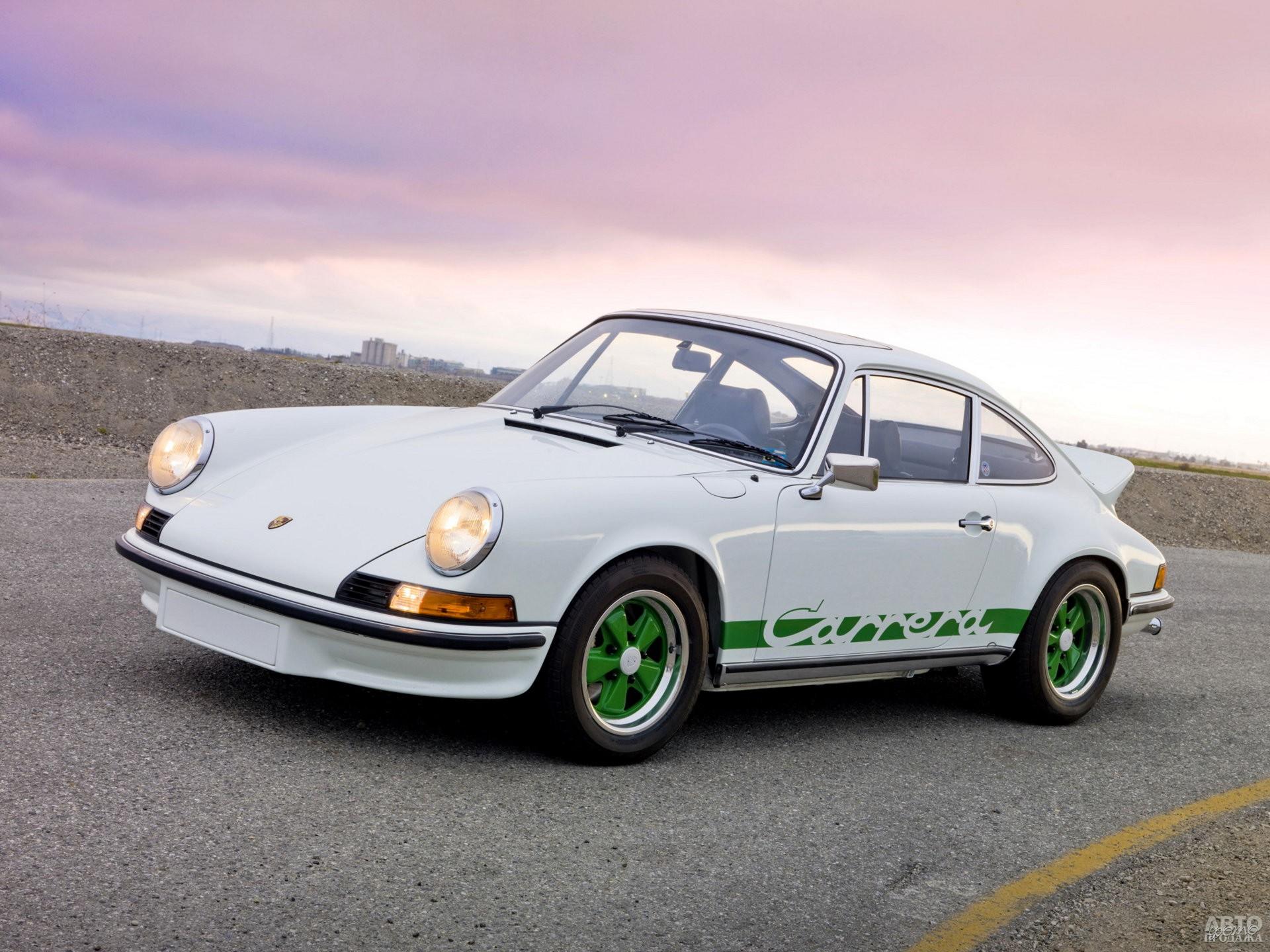 Porsche 911 Carrera 2,7 RS 1973 года – гроза гоночных трасс