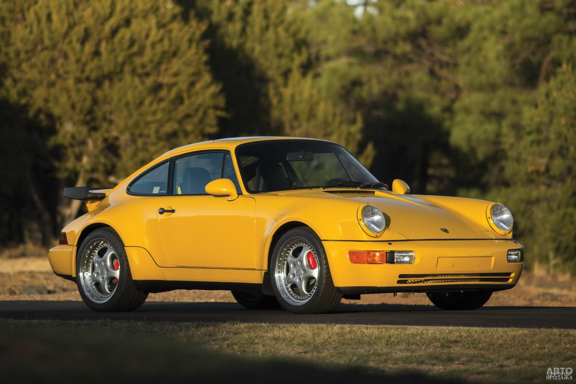 Porsche 911 Turbo 1993 года