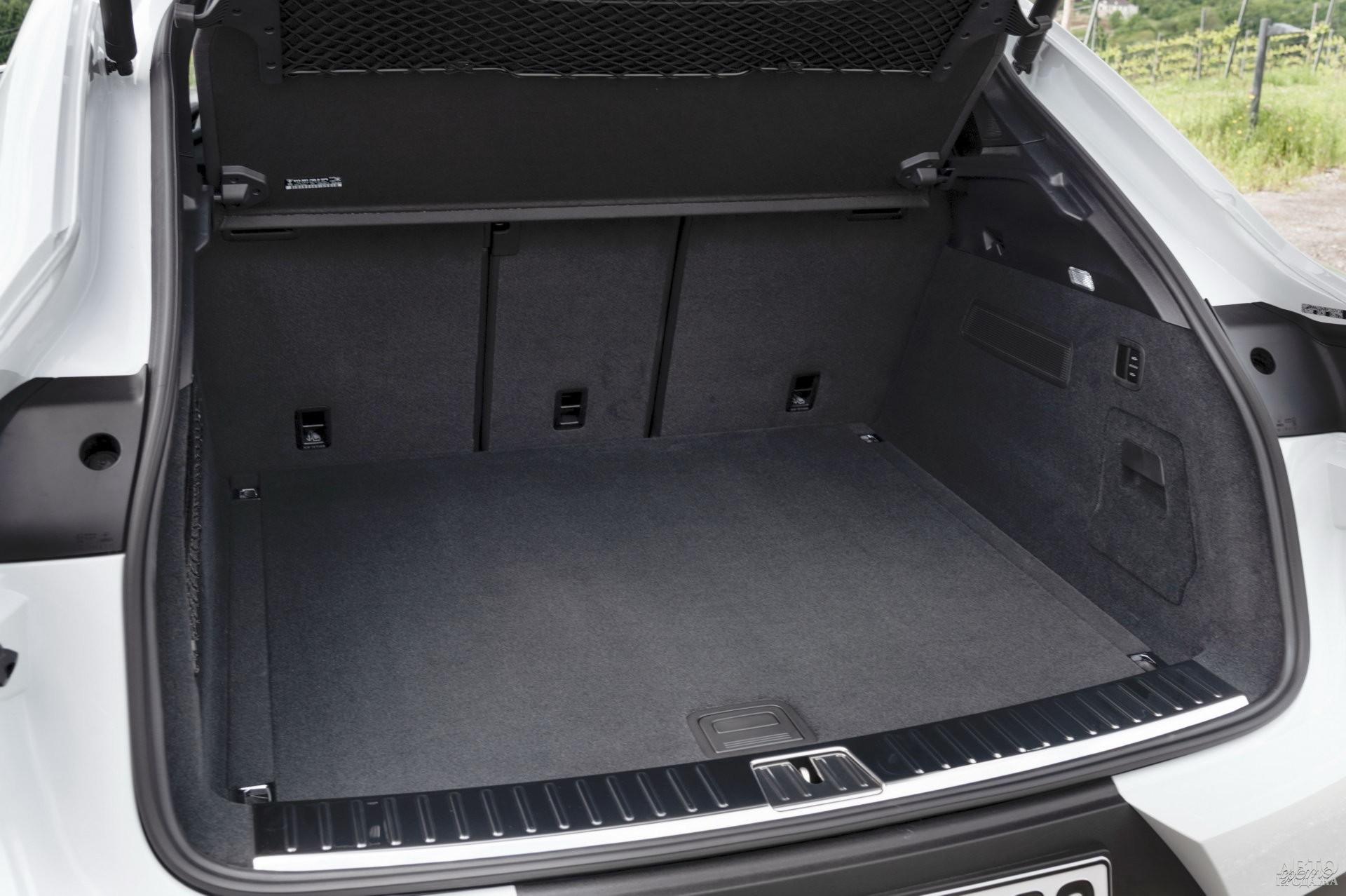 Самый вместительный багажник у Porsche – 625 л