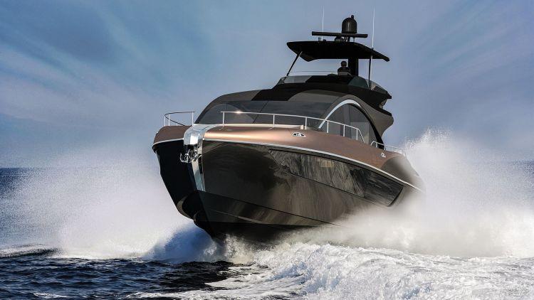 Lexus представил яхту собственной разработки