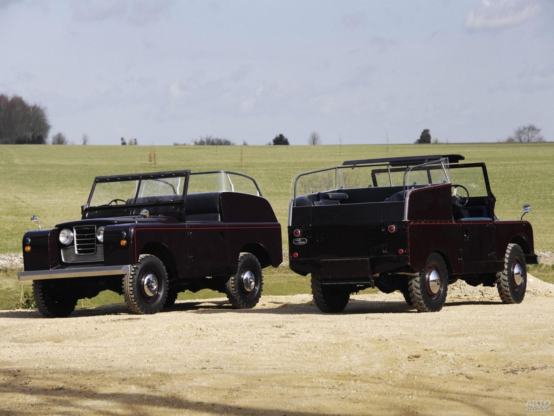 Кабриолеты Land_Rover для Елизаветы II, 1958 год