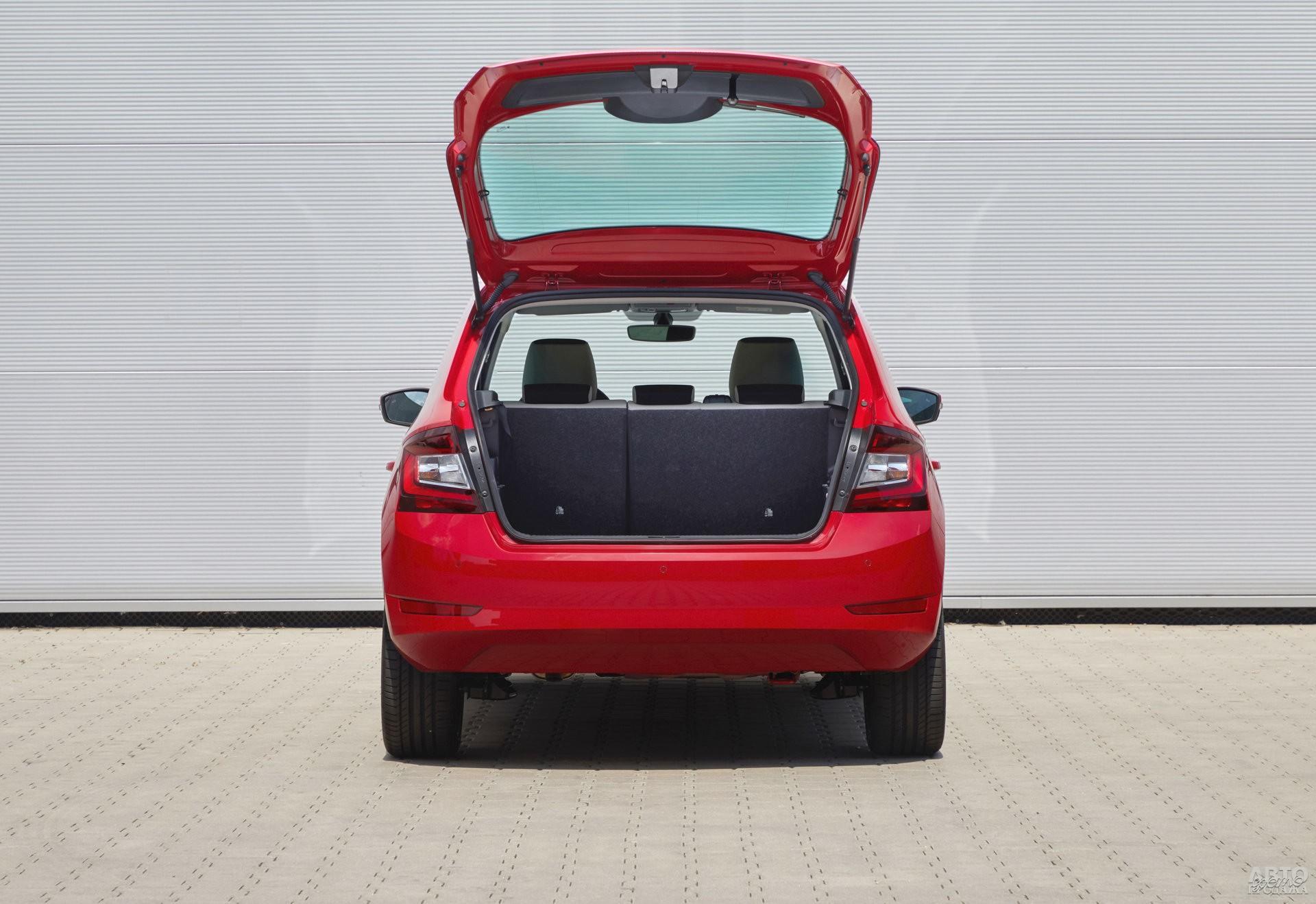Багажник Skoda самый большой – 330 л