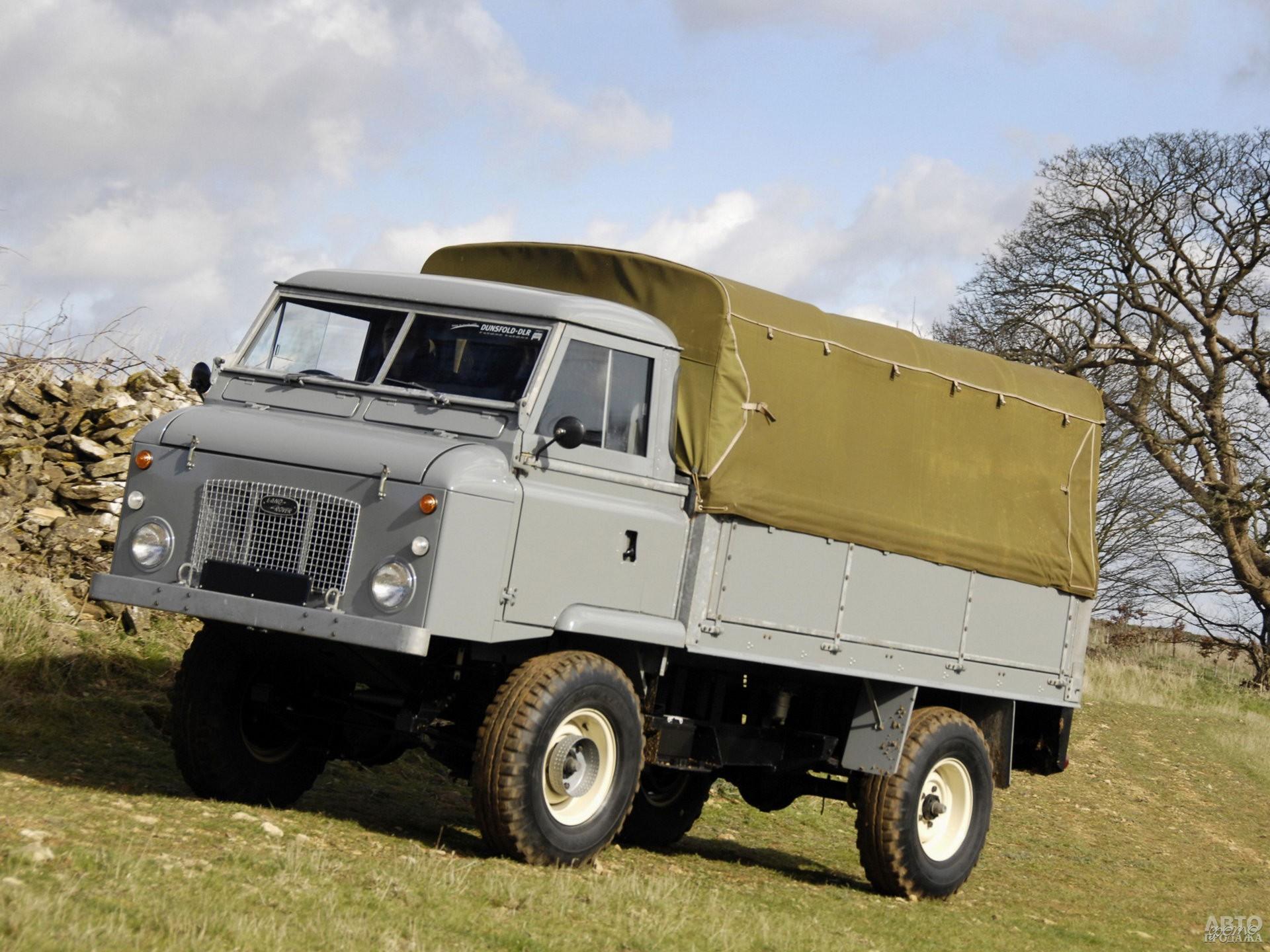 Land Rover Forward Control 1962 года