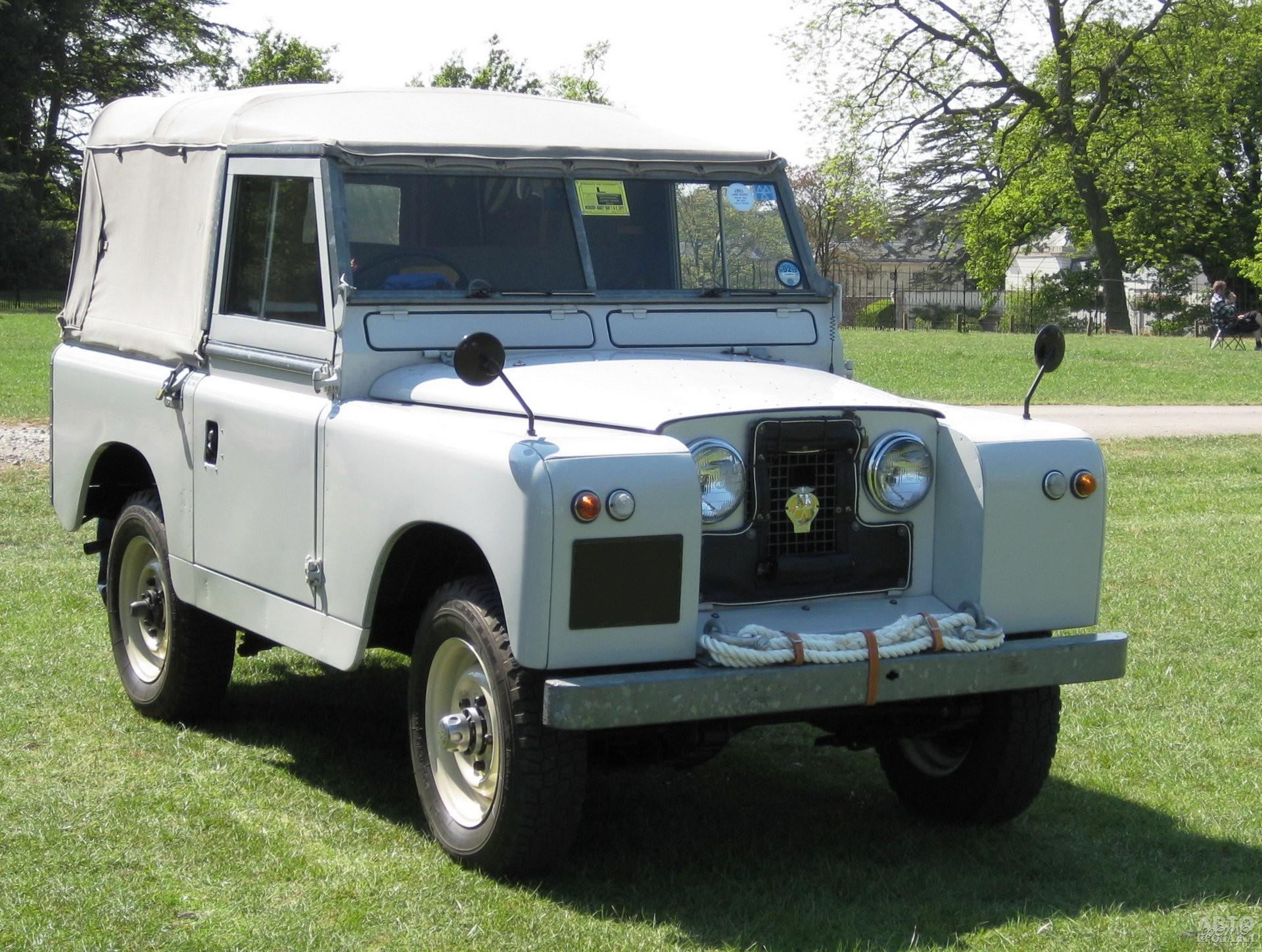 Обновленный land_Rover Series II 1958 года
