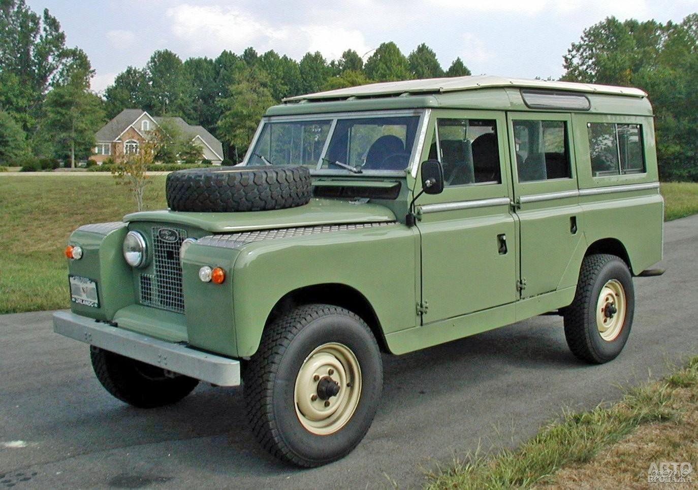 С 1961 года Land Rover начали оснащать 2,2-литровым дизелем