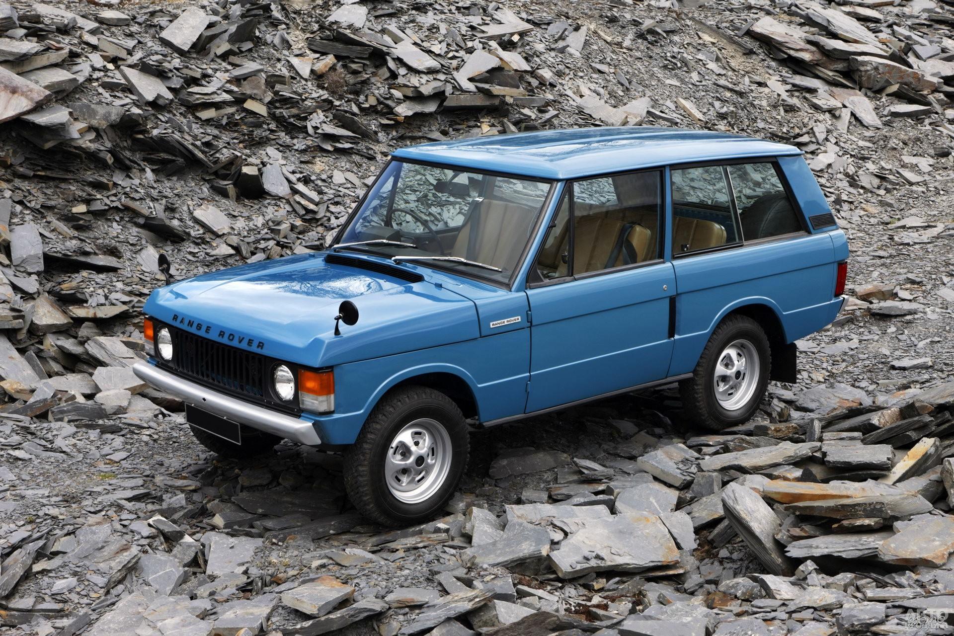 Первый Range Rover 1970 года создан на платформе Land Rover