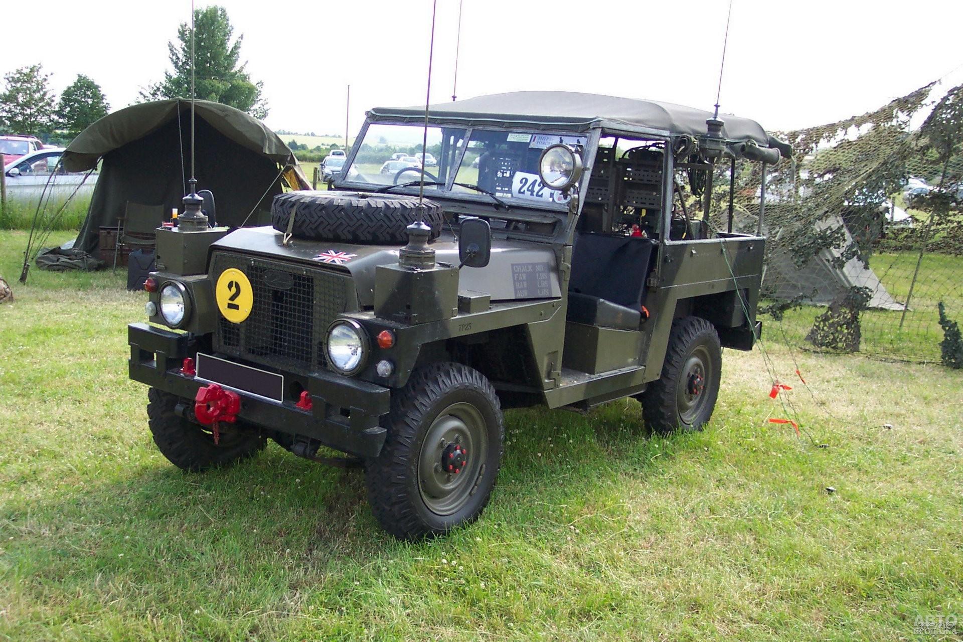 Военный Land Rover Lightweight, 1971 год