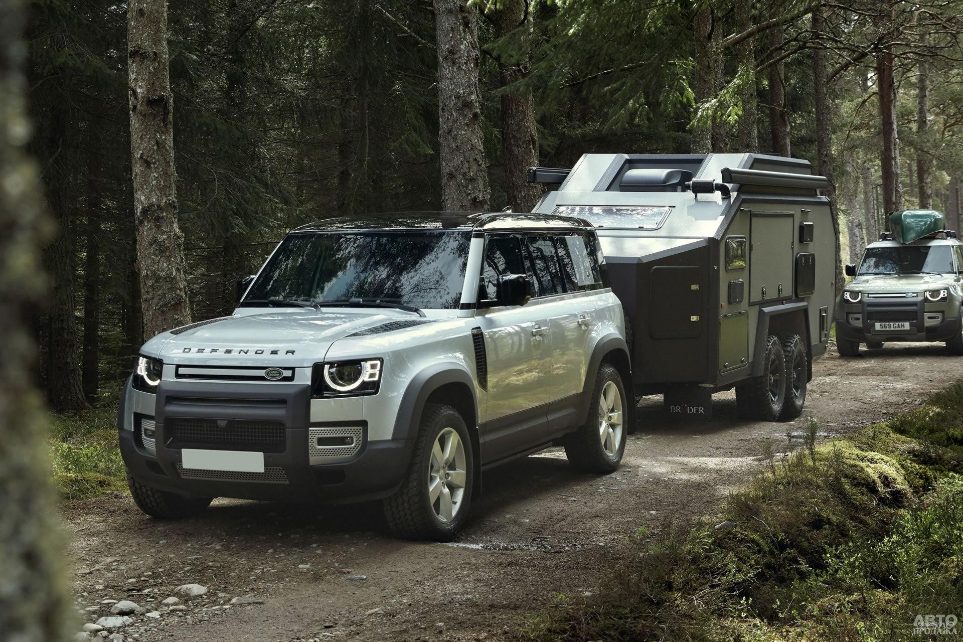 Новый Land Rover Defender 2020 года