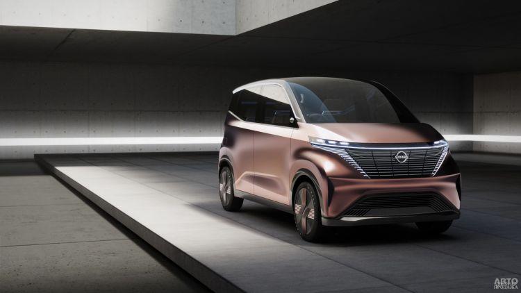 Nissan IMk: городской автомобиль будущего