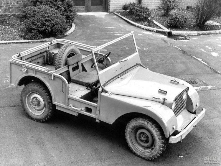 Прототип Land_Rover построили с использованием агрегатов Jeep