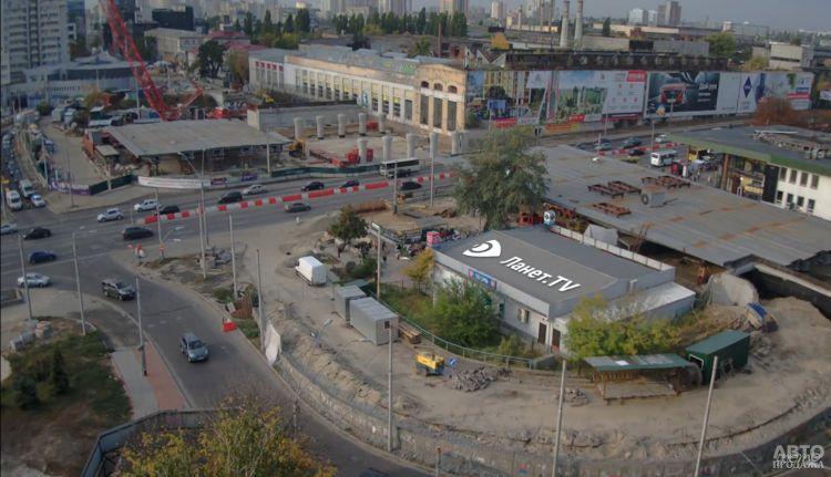Проспект Победы в Киеве временно перекроют