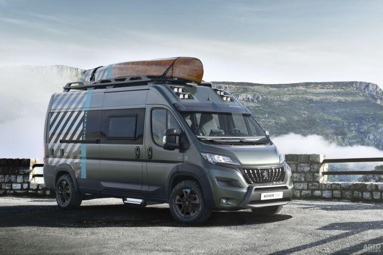 Peugeot Boxer 4x4: для активного отдыха