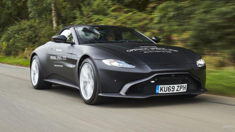 Первые фото Aston Martin Vantage Roadster