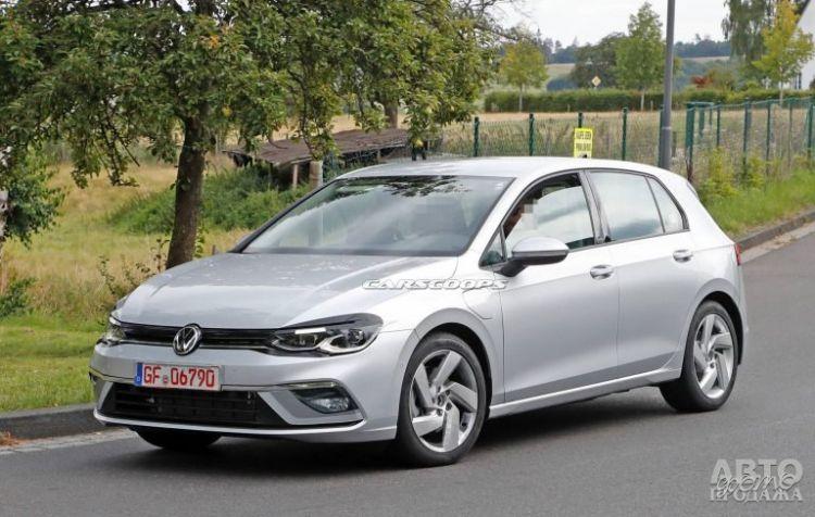 Новый Volkswagen Golf будет представлен в конце октября