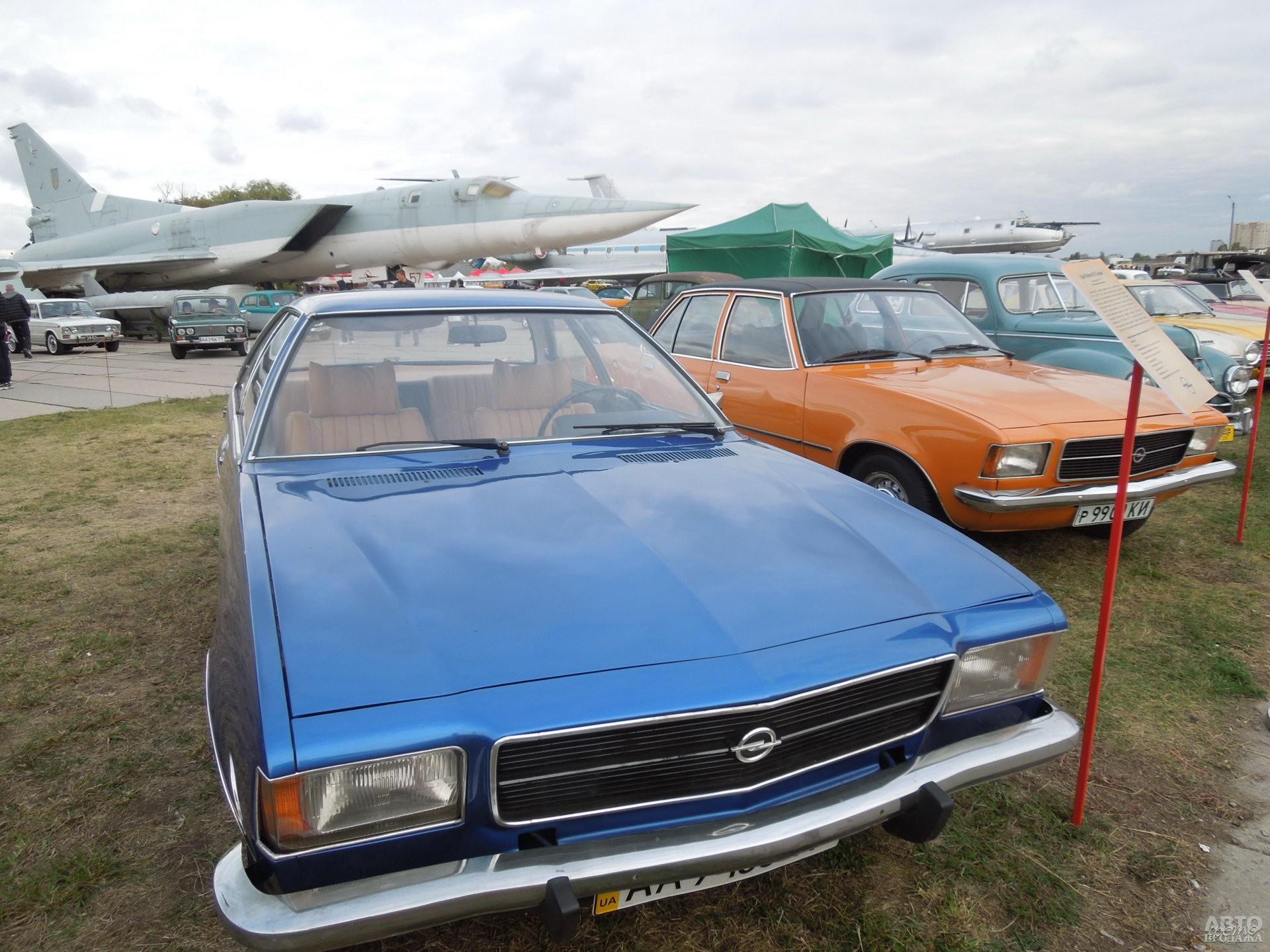 Седан и купе Opel Rekord