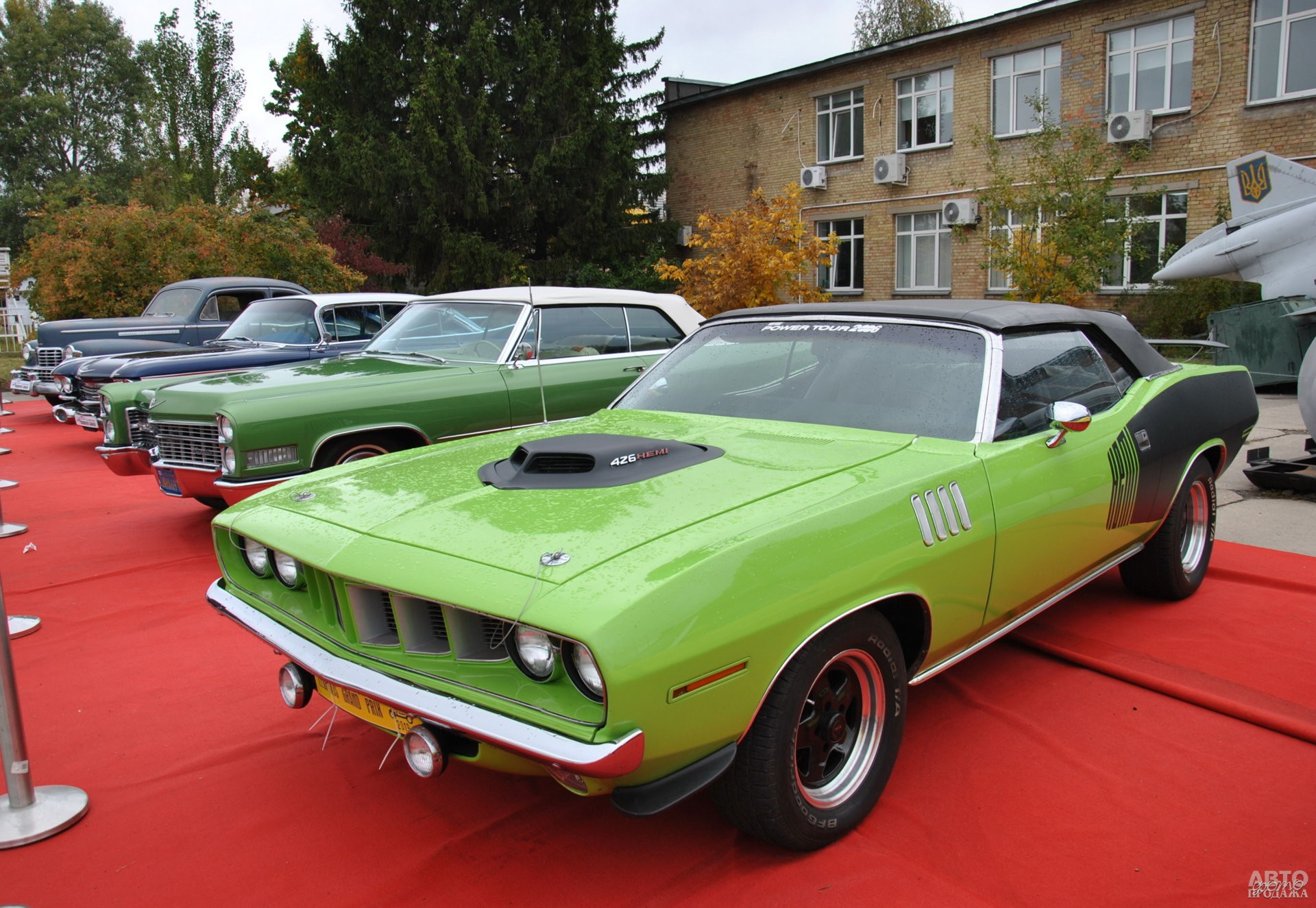Plymouth Barracuda 1971 года - звезда экспозиции американских авто