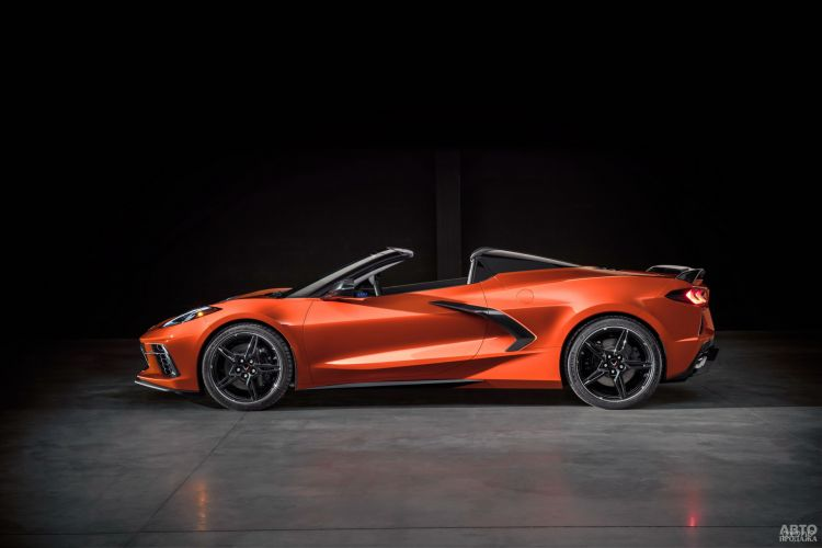 Chevrolet Corvette C8 Stingray Convertible: смена образа