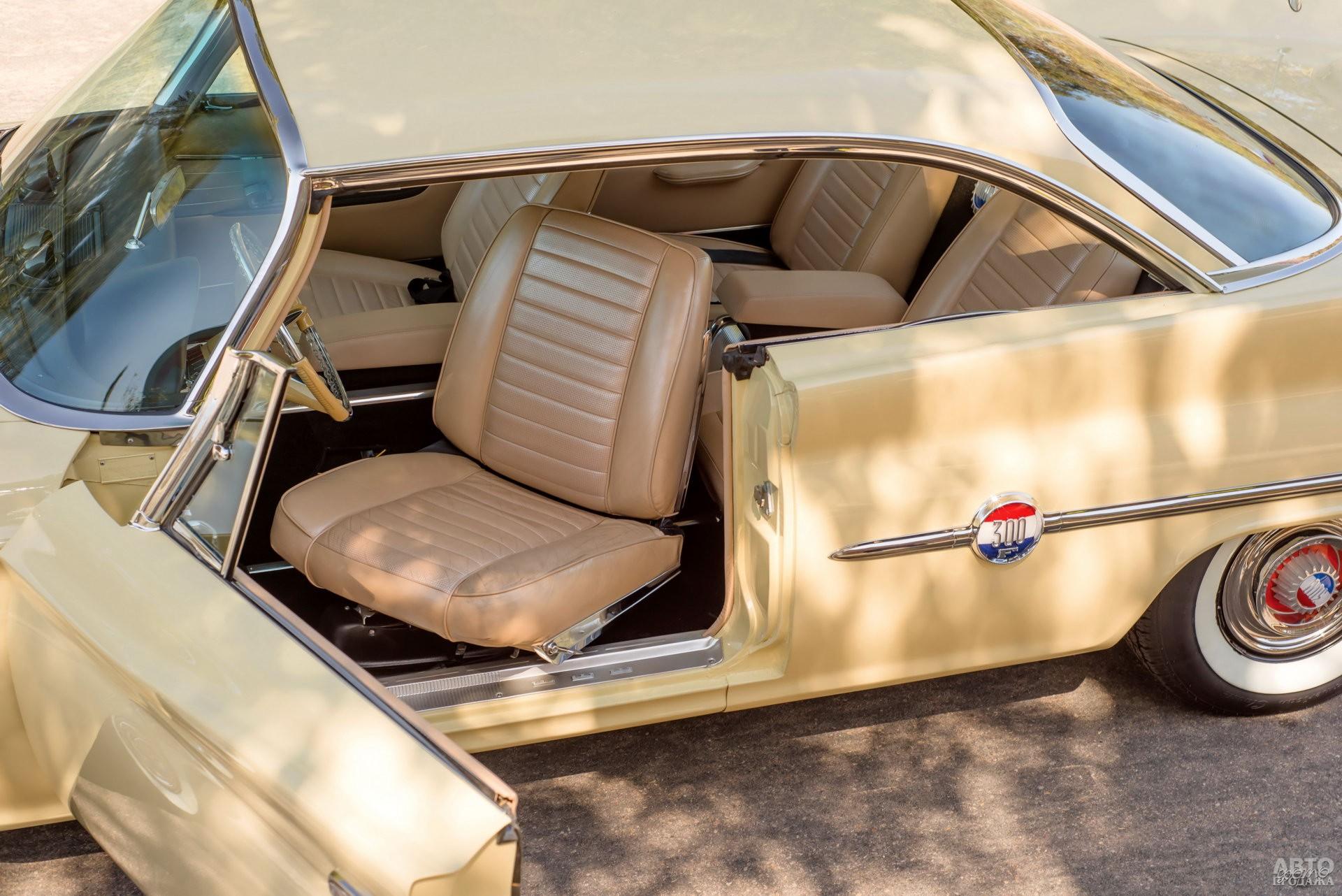 Поворотные кресла – изюминка Chrysler 300F