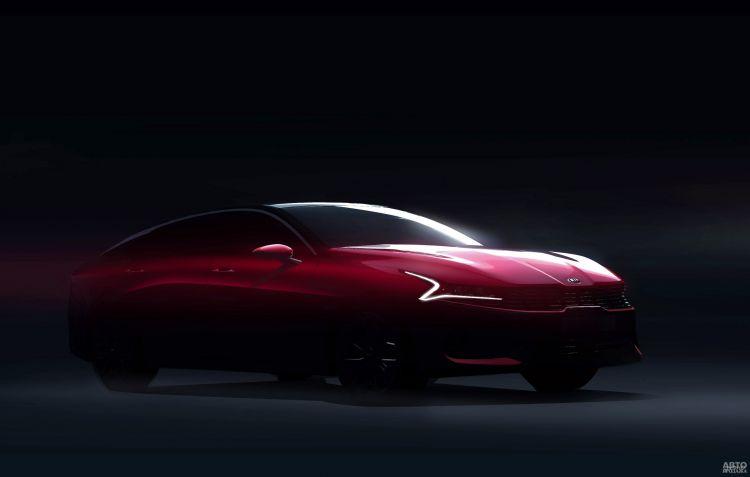 Первые официальные изображения новой Kia Optima