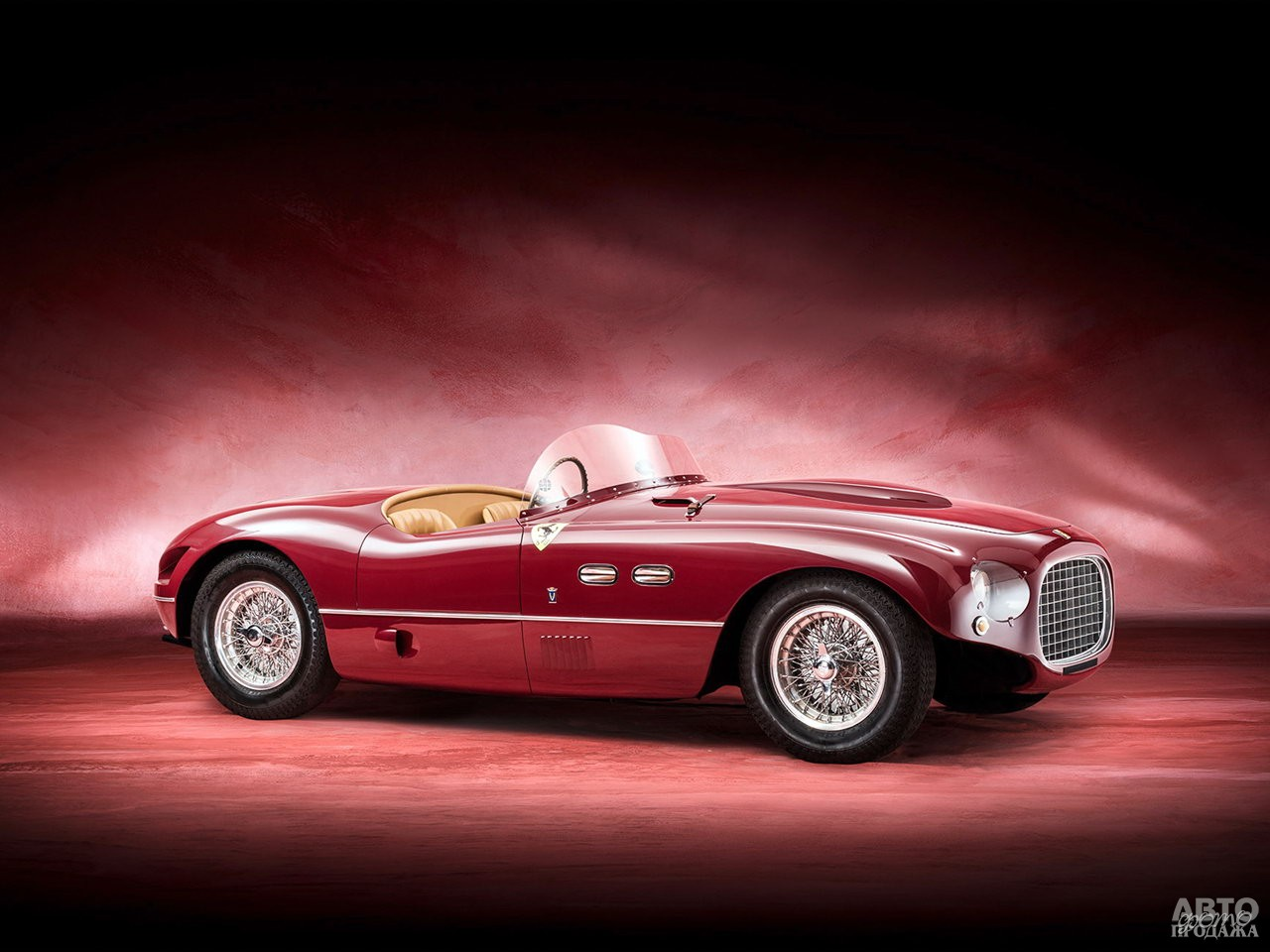 Первый Ferrari_250 S 1952 года – победитель гонки Mille Miglia