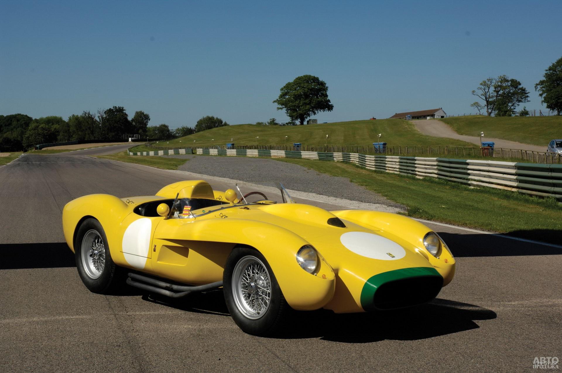 Ferrari 250 Testa Rossa 1957 года – трехкратный победитель 24-часовой гонки в Ле-Мане