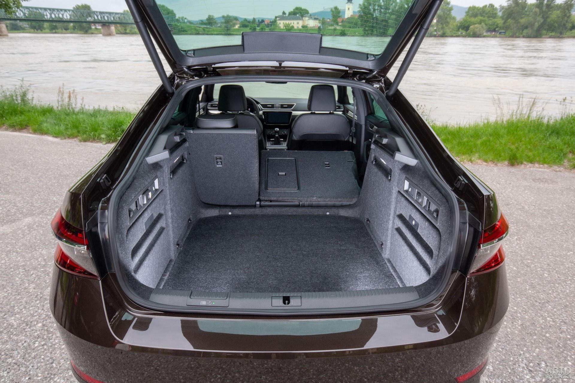 Багажник Skoda самый вместительный – 625 л
