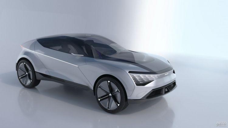 Kia Futuron: взгляд в будущее