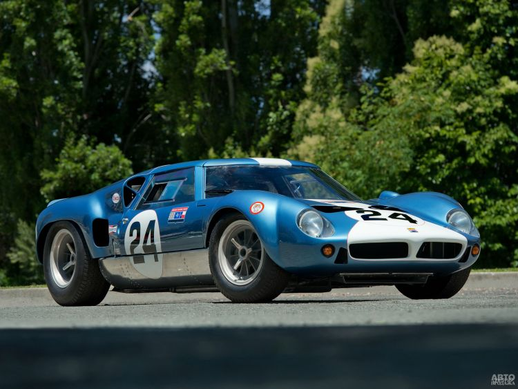 Lola MkVI GT 1963 года — предшественник Ford_GT40