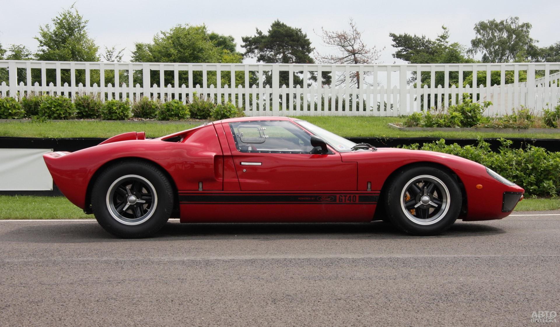Современная копия Ford GT40