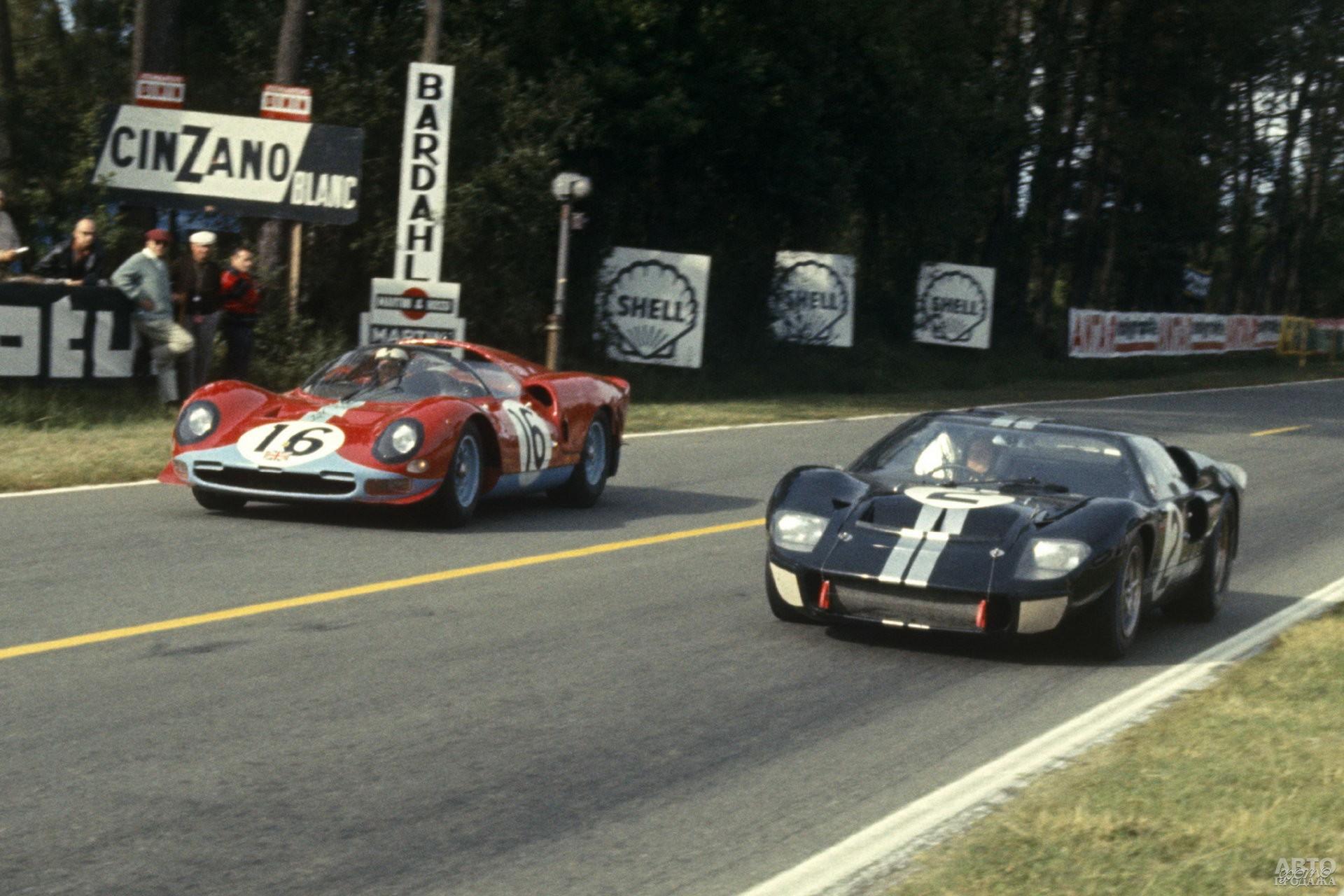 В 1966 году Ford таки смог побороть Ferrari