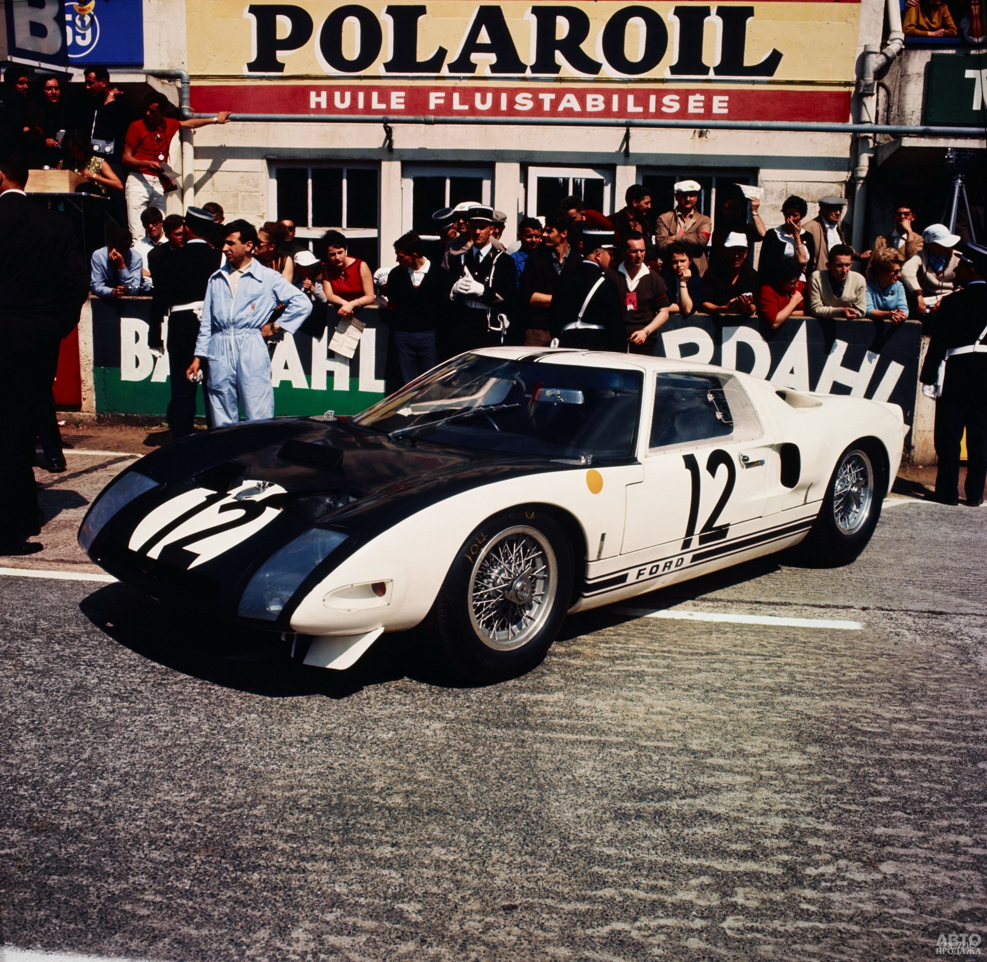 Прототип Ford_GT40, 1963 год