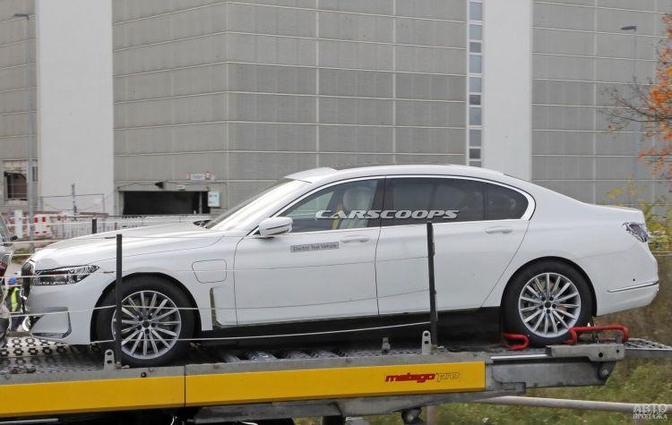 BMW 7 Series станет электромобилем