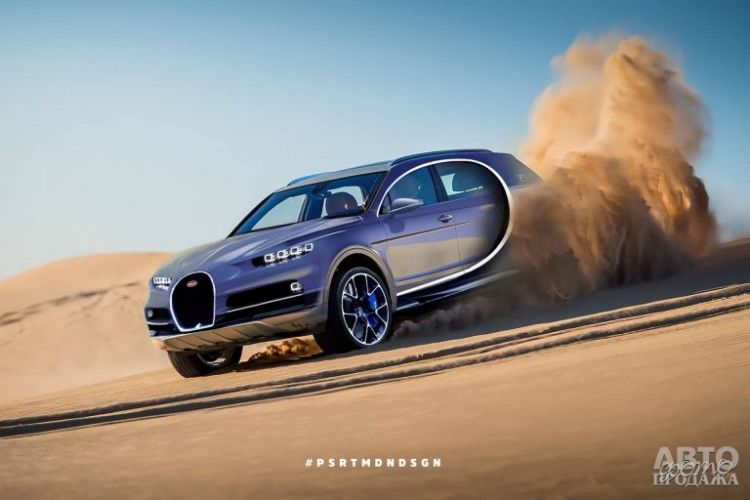 Bugatti может выпустить электромобиль