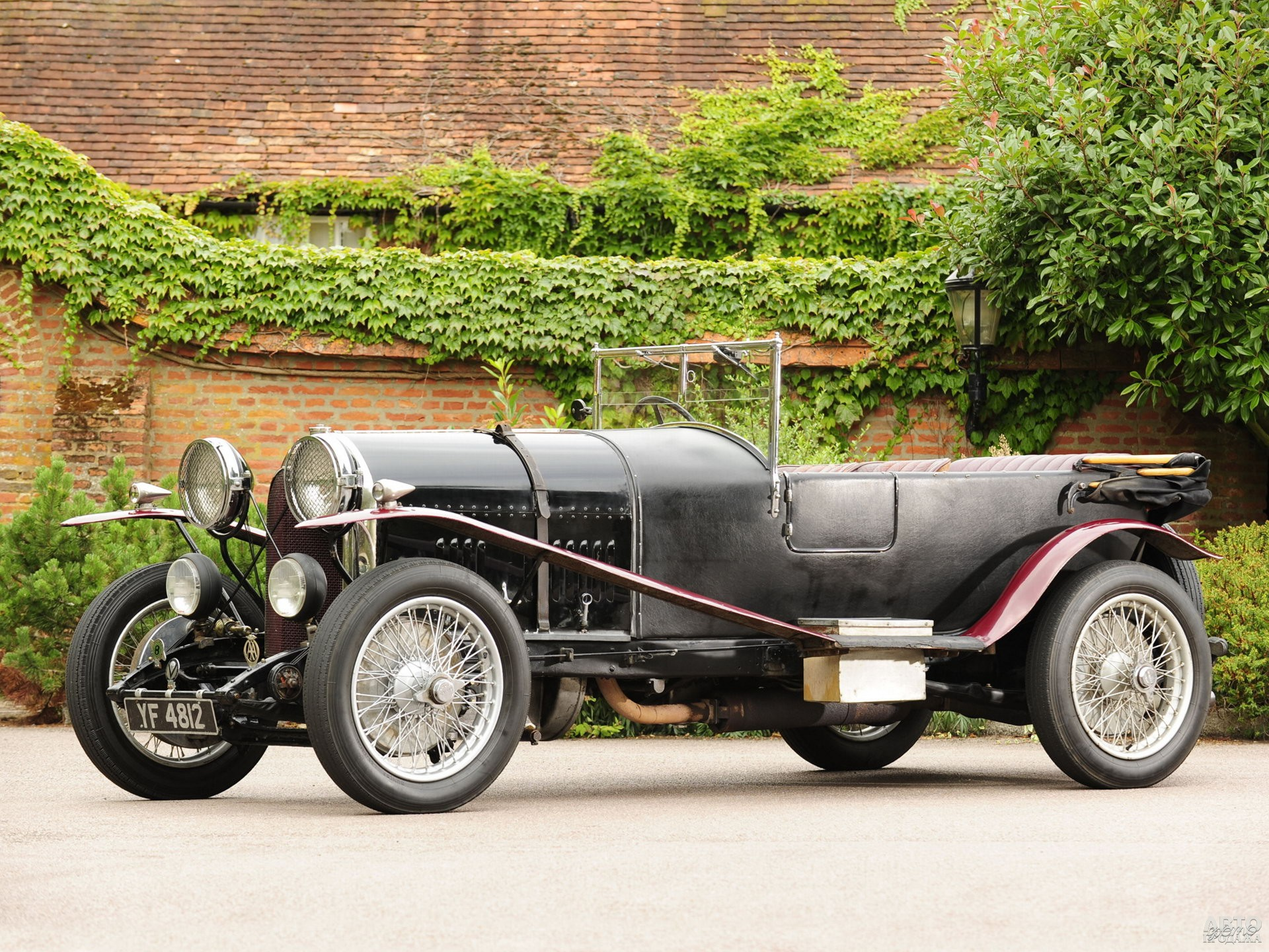 Bentley 3 Litre Speed Tourer 1921 года