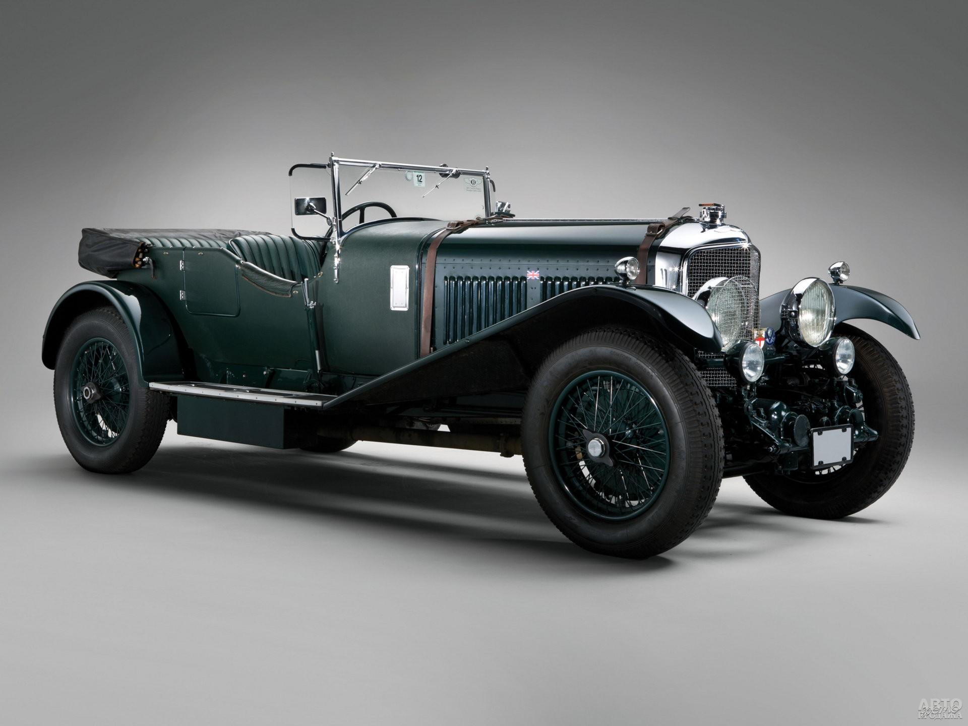 Bentley Speed Six 1929 года разгонялся до 180 км/ч