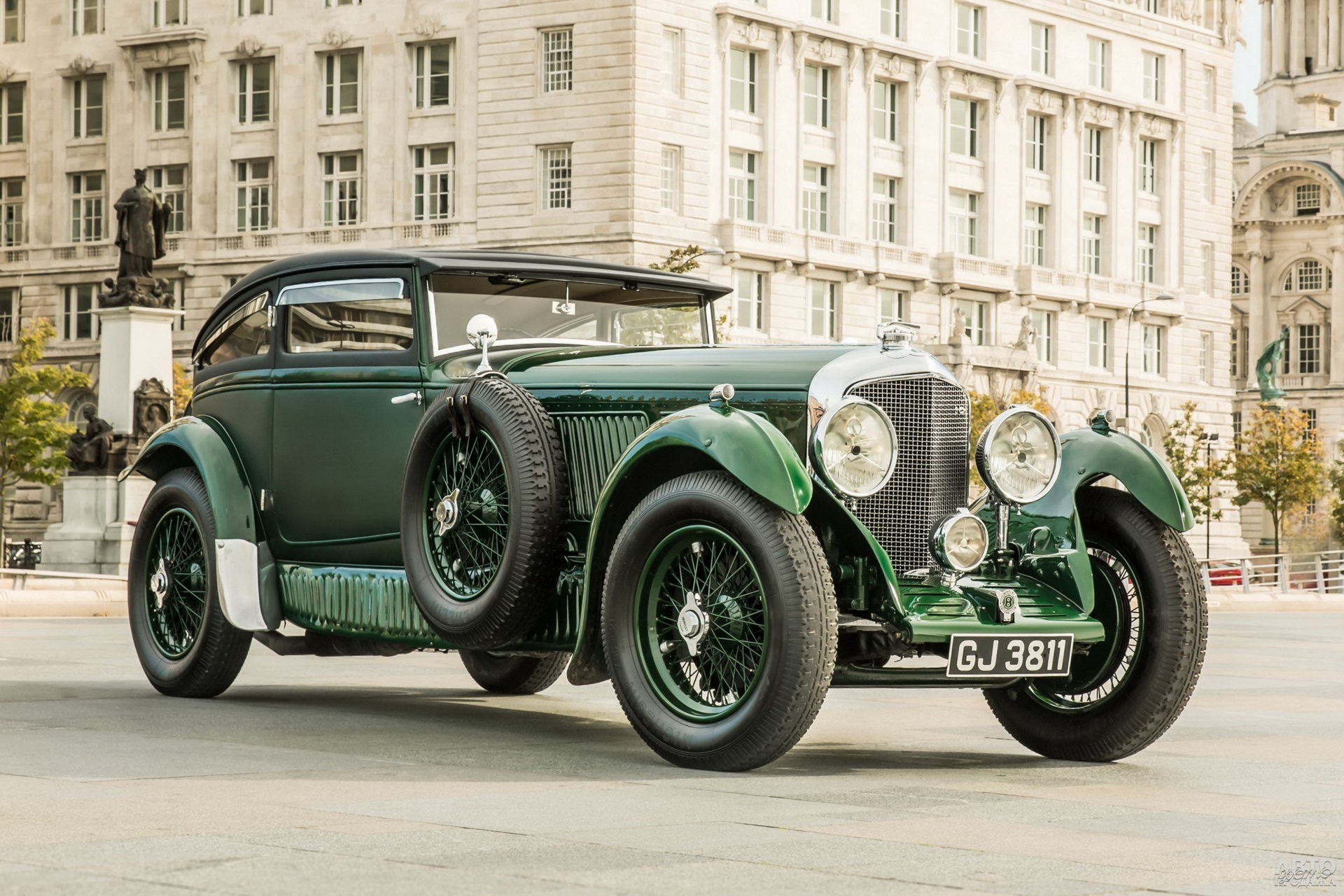 Bentley Speed Six Blue Train Special 1930 года