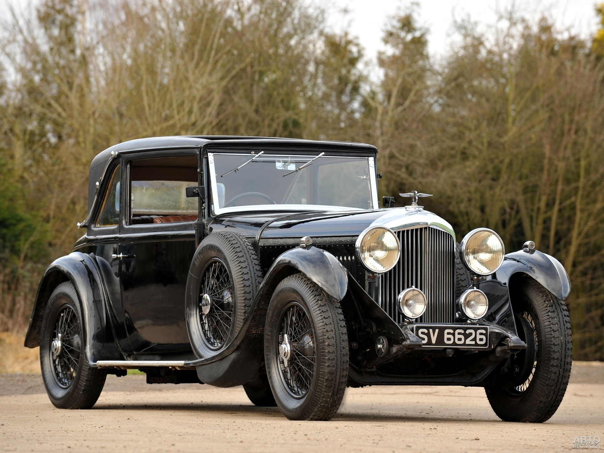 Bentley 4 Litre 1931 года