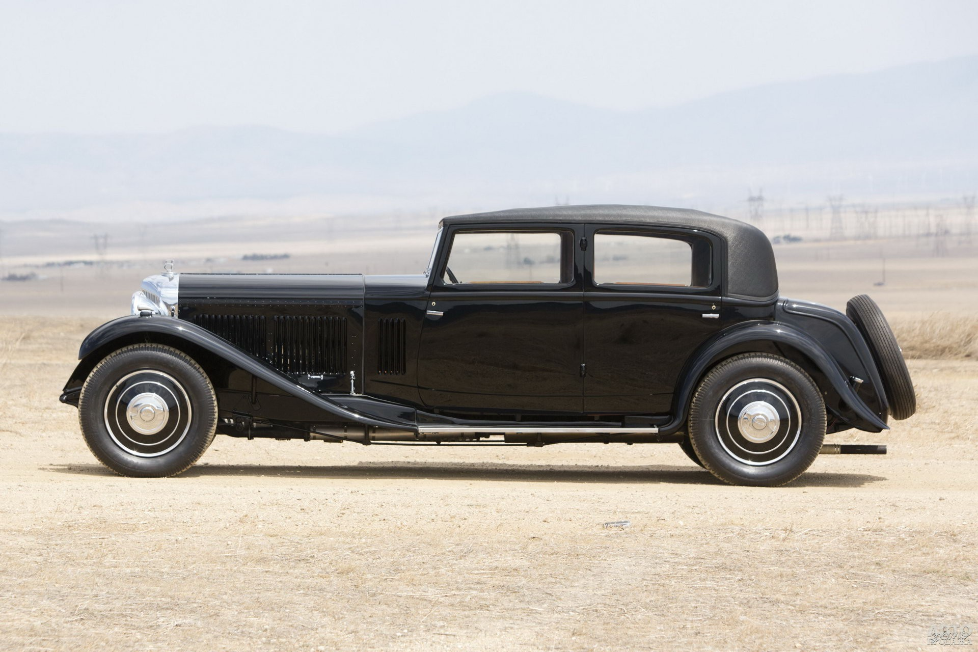 Bentley 8 Litre Mulliner 1931 года