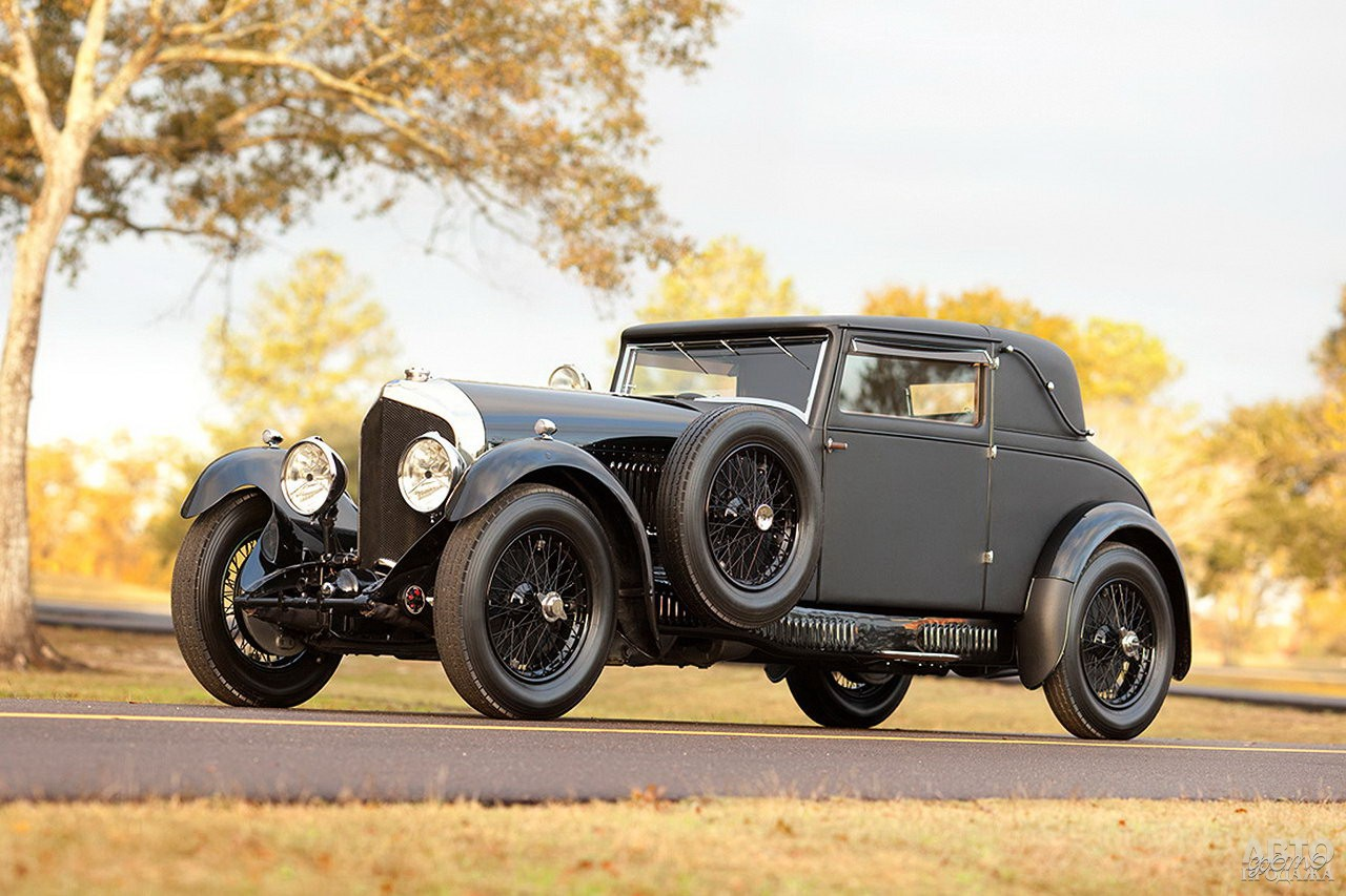 Bentley 6 ½ Litre Sport Coupe 1926 года